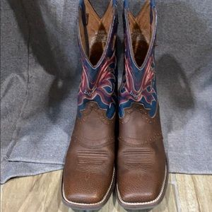 EUC! AUTHENTIC JUSTIN LASSO COWBOY BOOTS